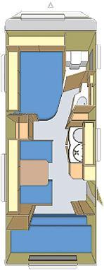Grundriss Fendt 550 TFK